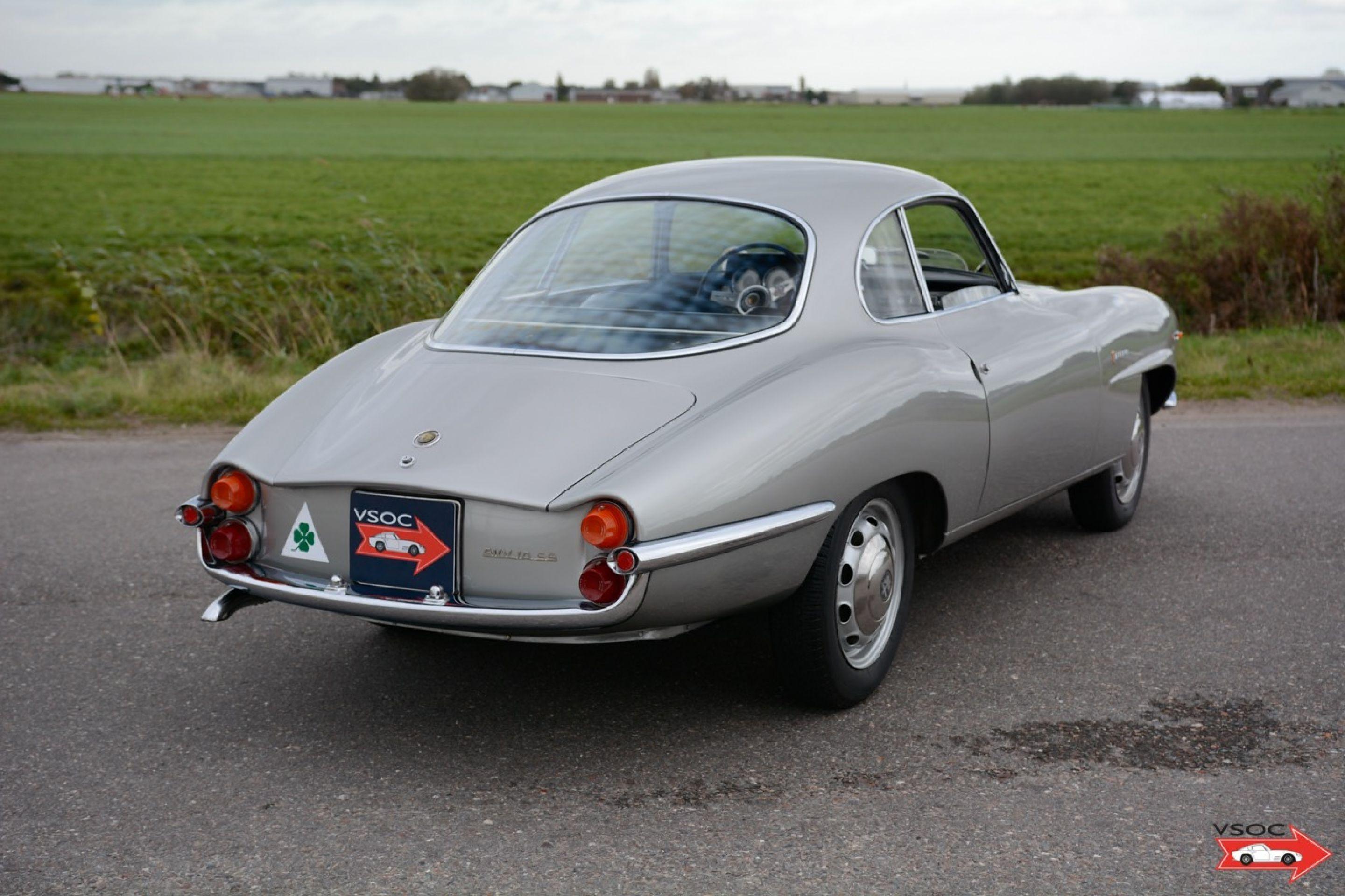 1965 Alfa Romeo Giulia 1600 'SS' Sprint Speciale - wonderful example