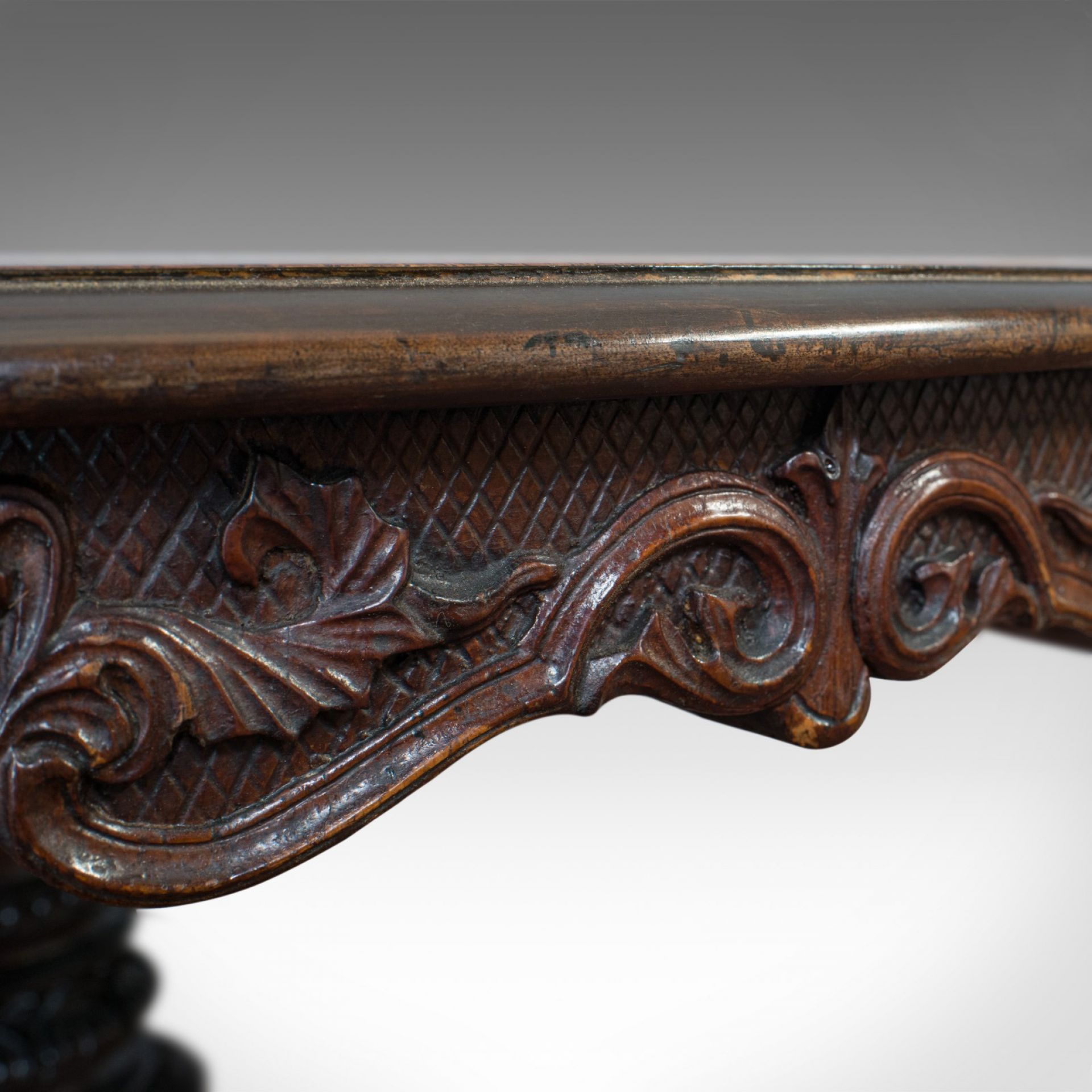 Inlaid Antique Breakfast Table, English, Rosewood, Centre, Game, Victorian