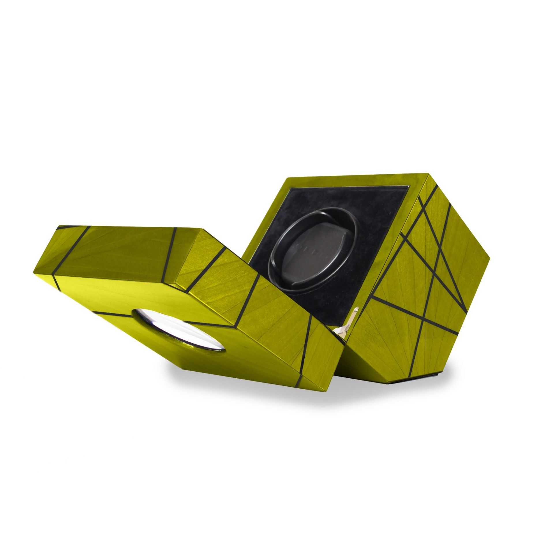 Time Lines Watch winder Green