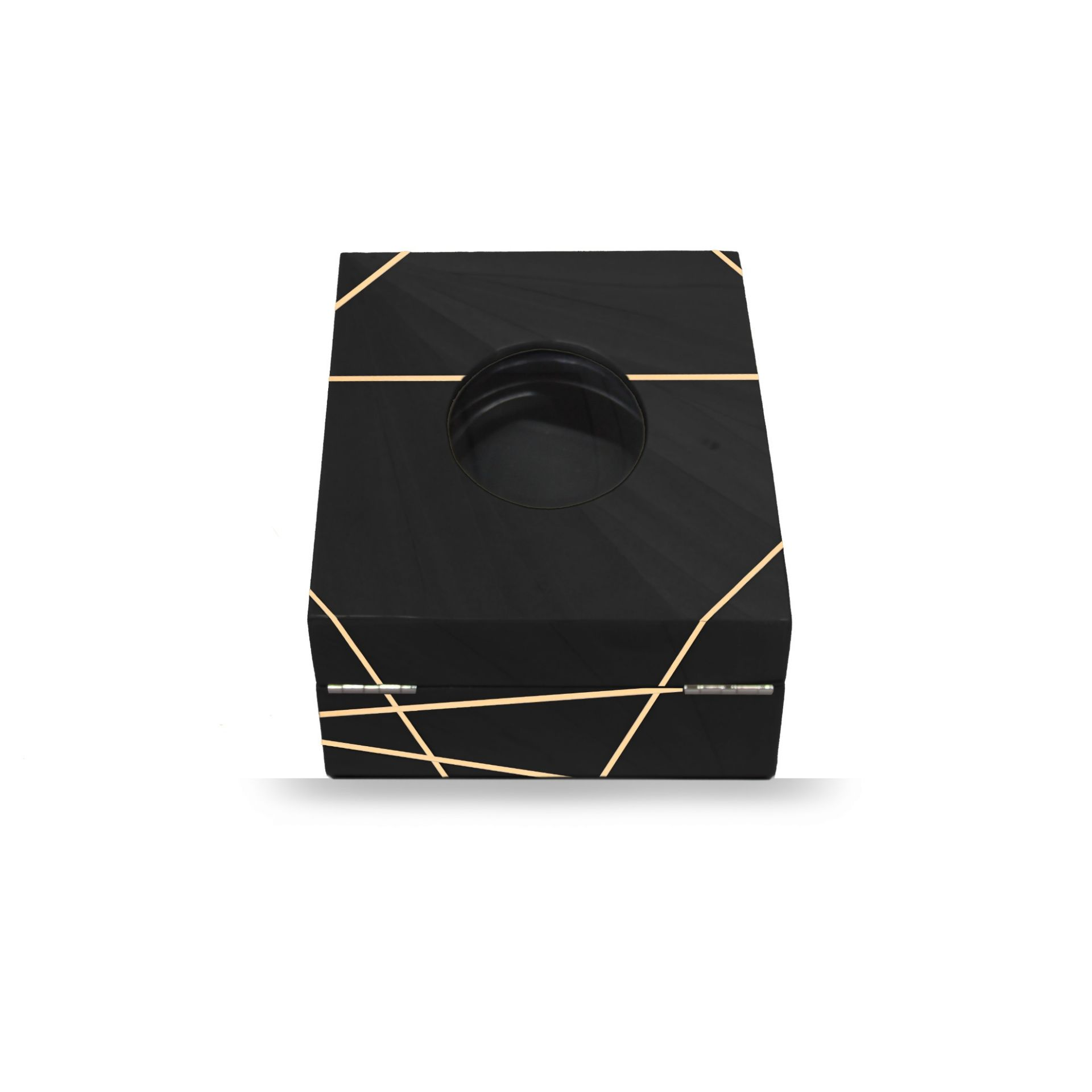 Time Lines Watch Box Black