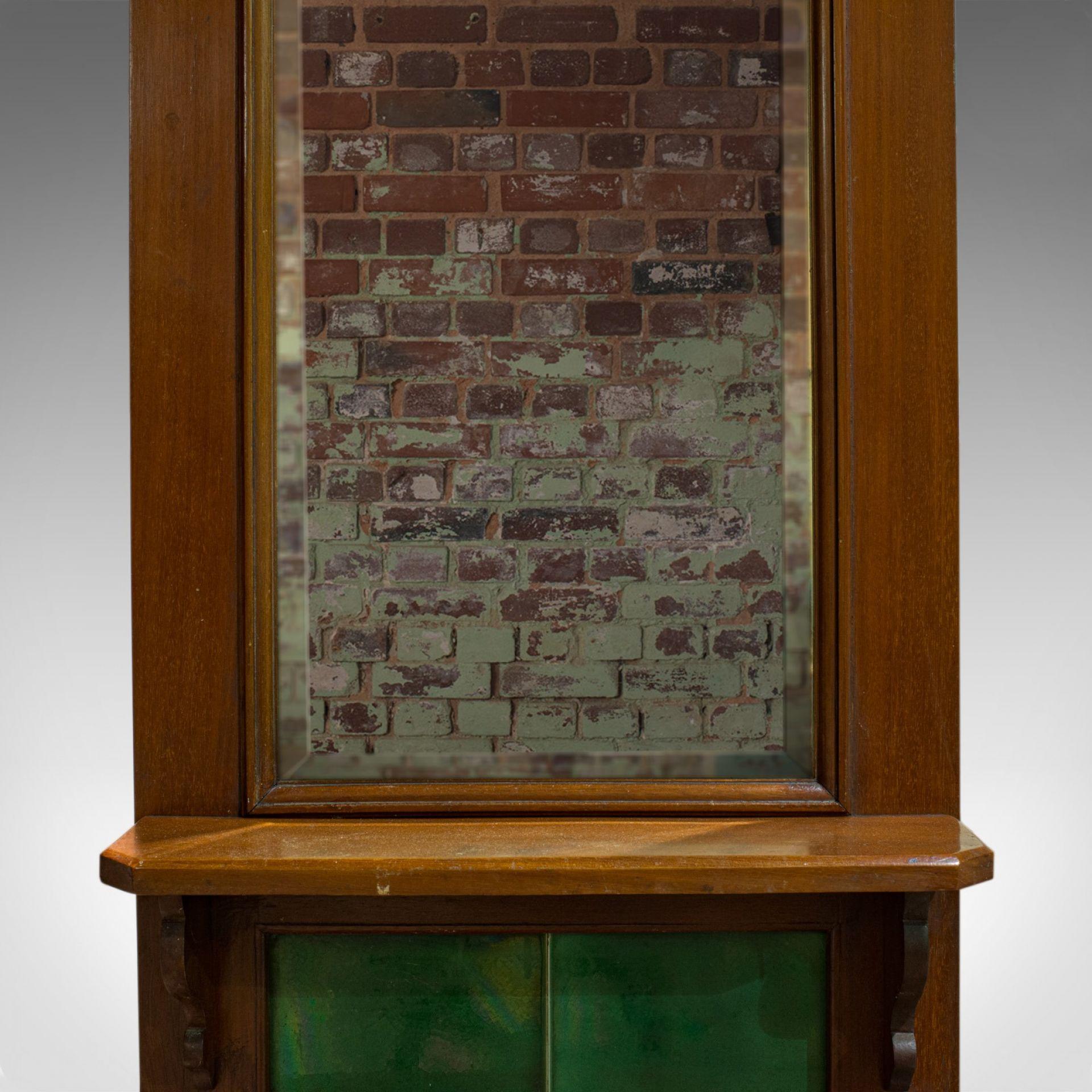 Antique Hall Stand, English, Walnut, Stick, Coat, Hat Stand, Edwardian, C.1910