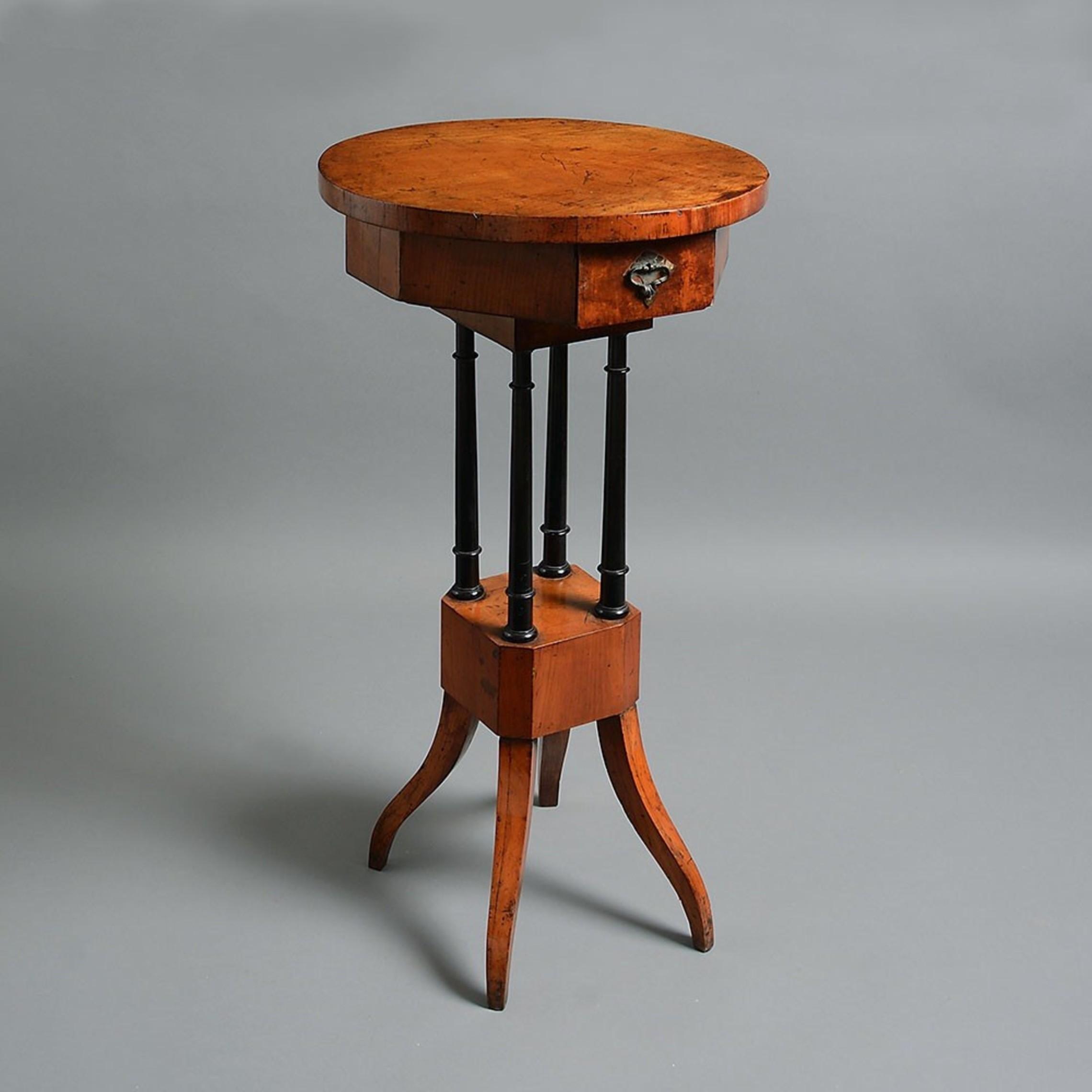A Biedermeier Occasional Table