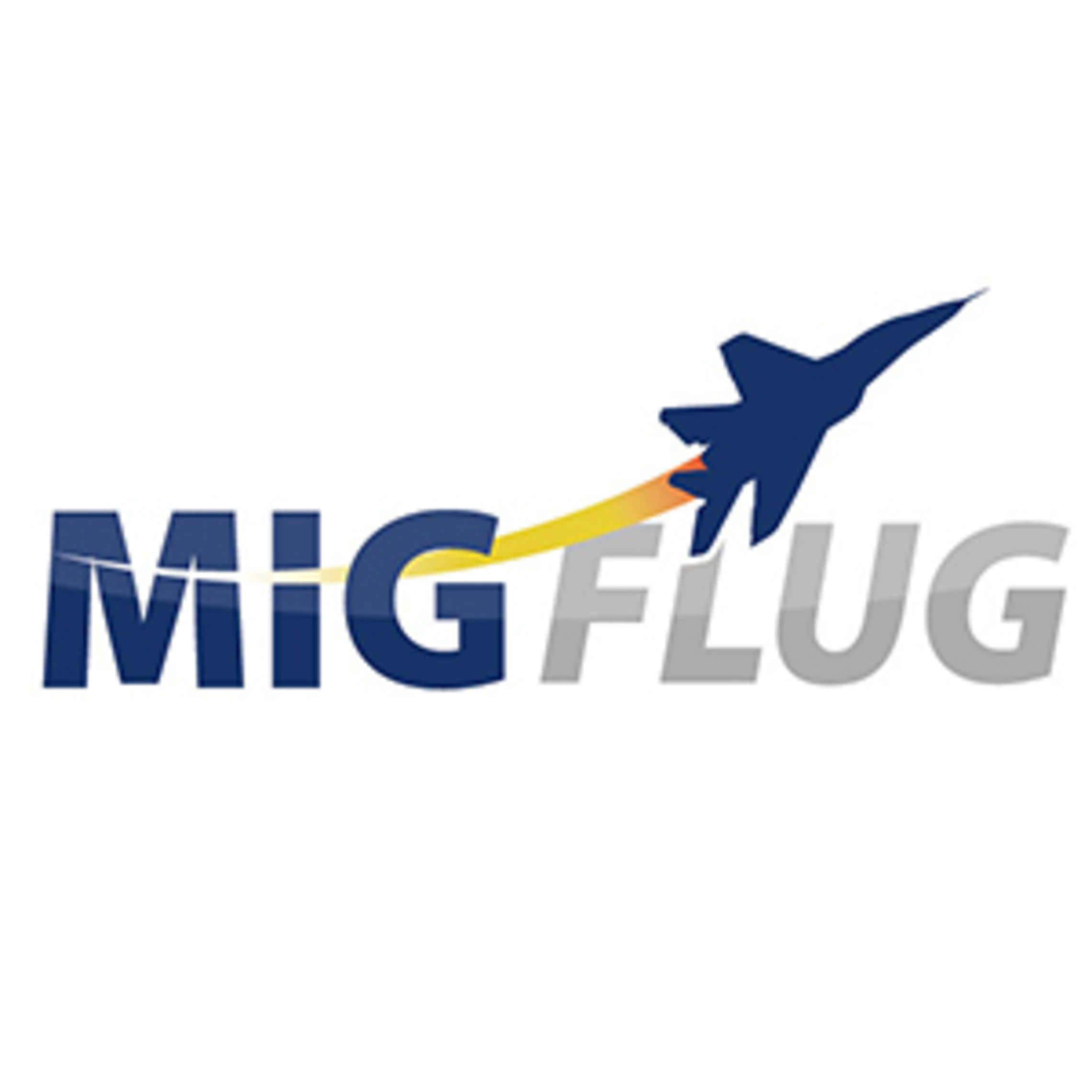 migflug jet fighter- company logo
