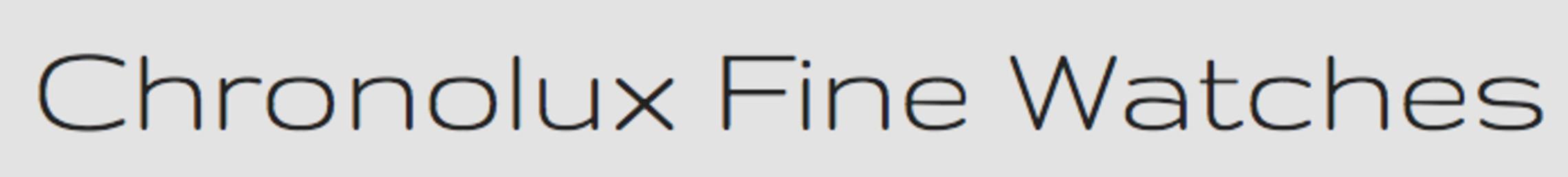 chronolux fine watches- company logo