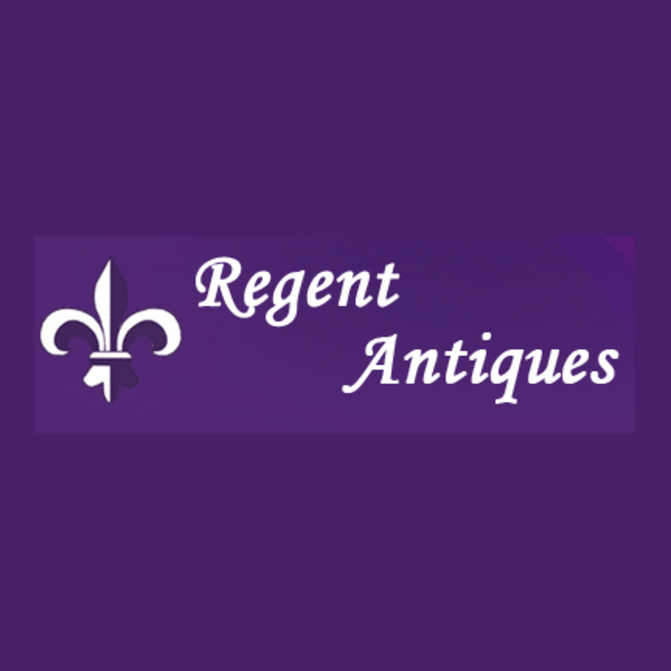 regent antiques- company logo