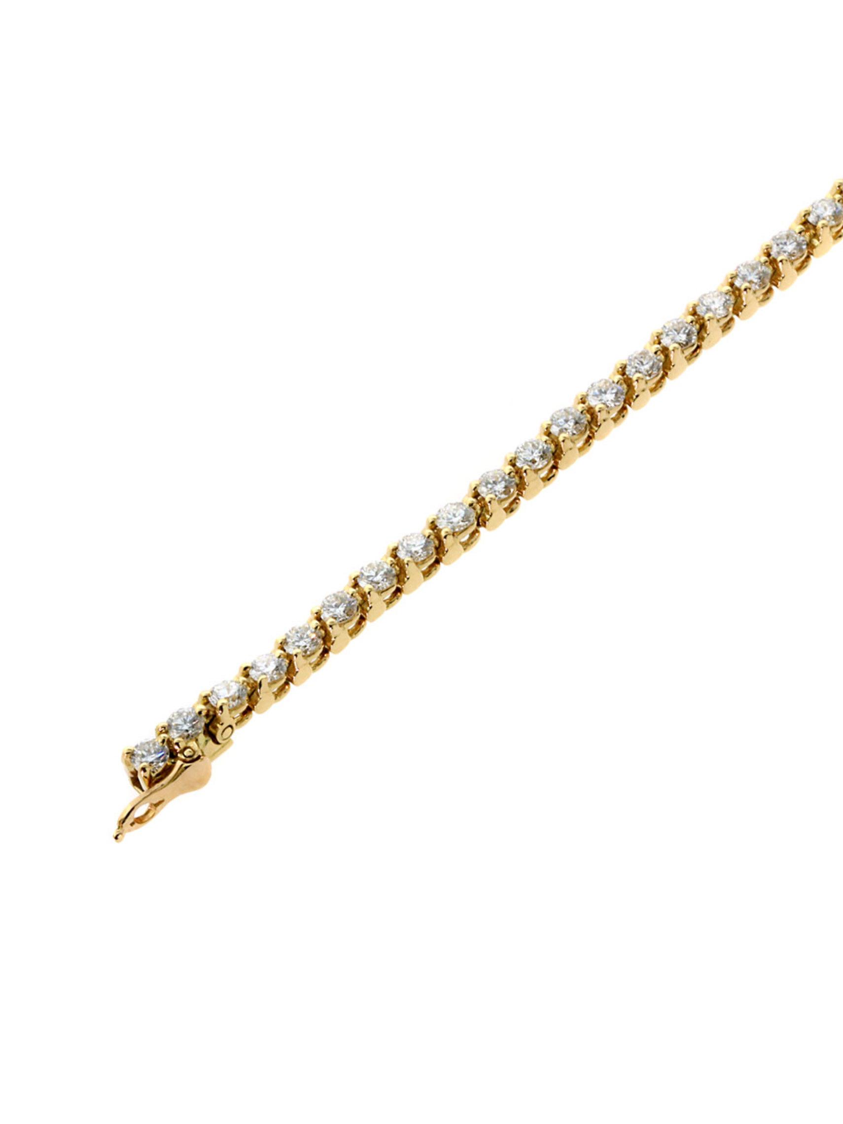 Cartier Diamond Tennis Bracelet