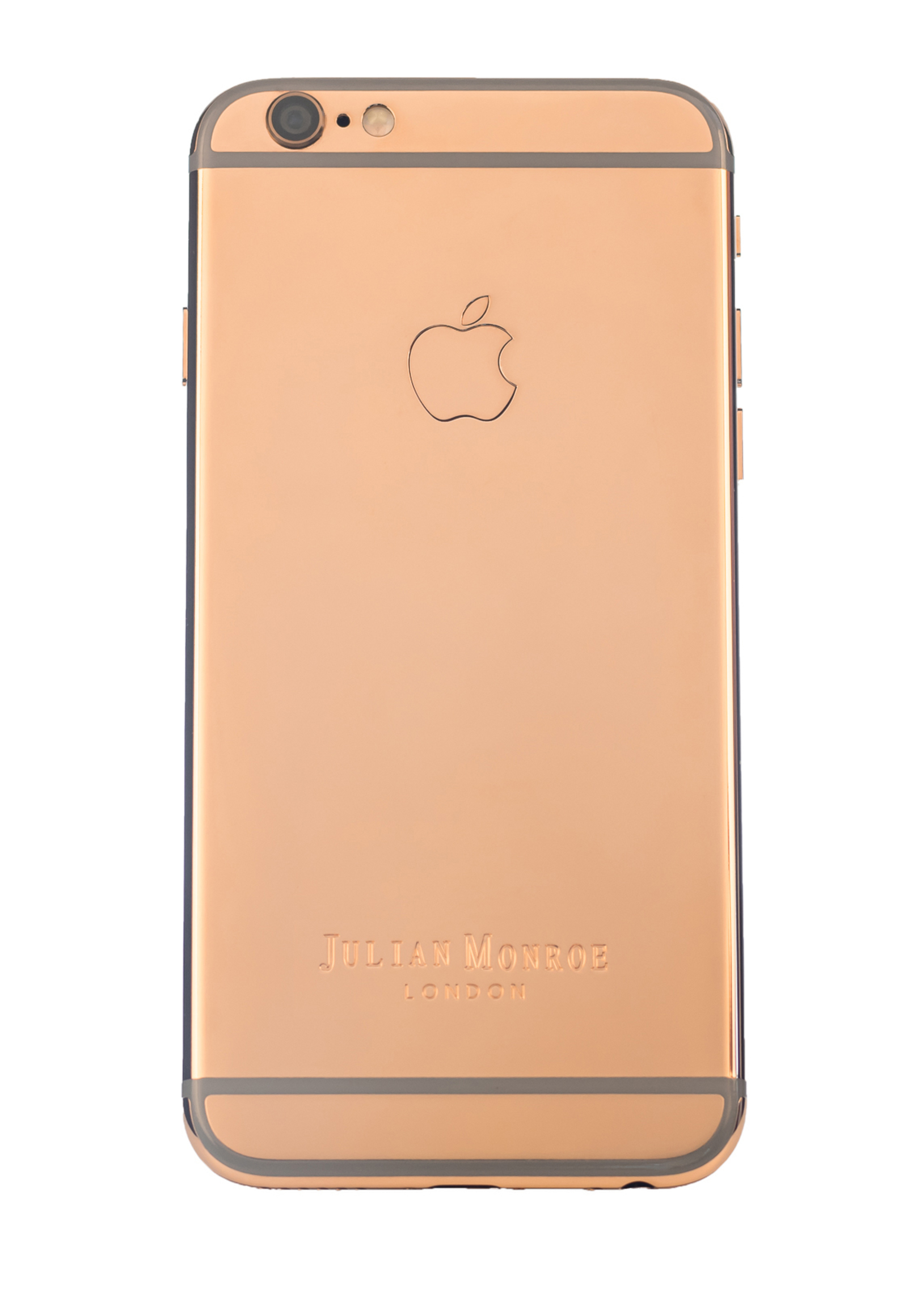 18ct Rose Gold iPhone 6s (By Julian Monroe London)