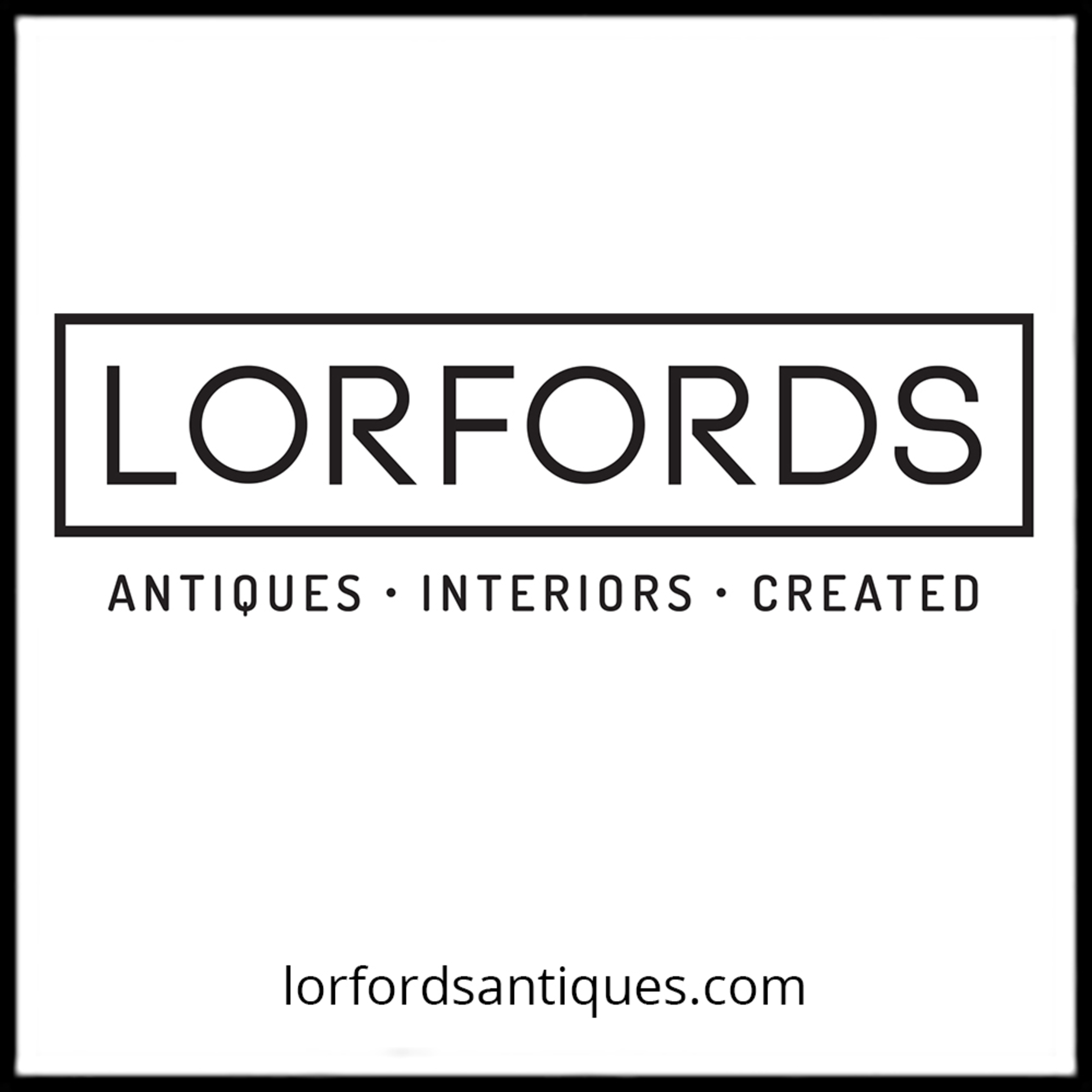 lorfords antiques- company logo