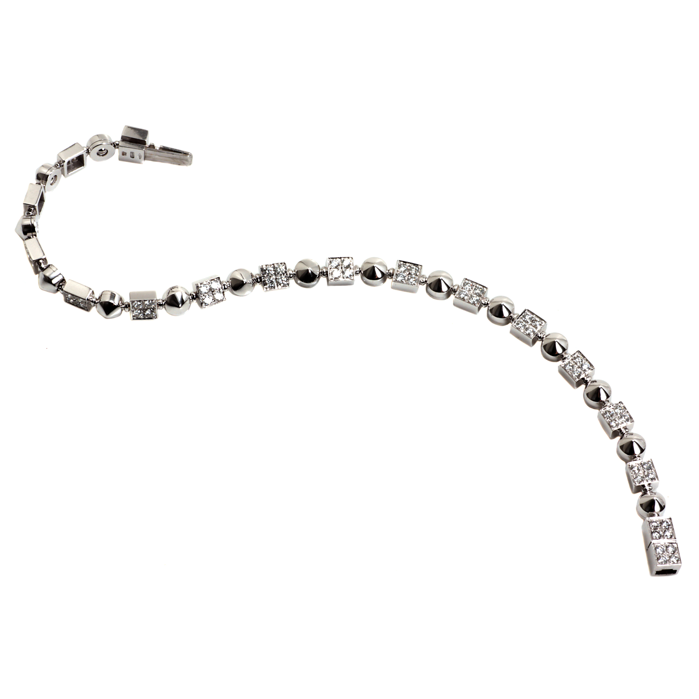 Bvlgari Lucea Diamond Bracelet in Gold