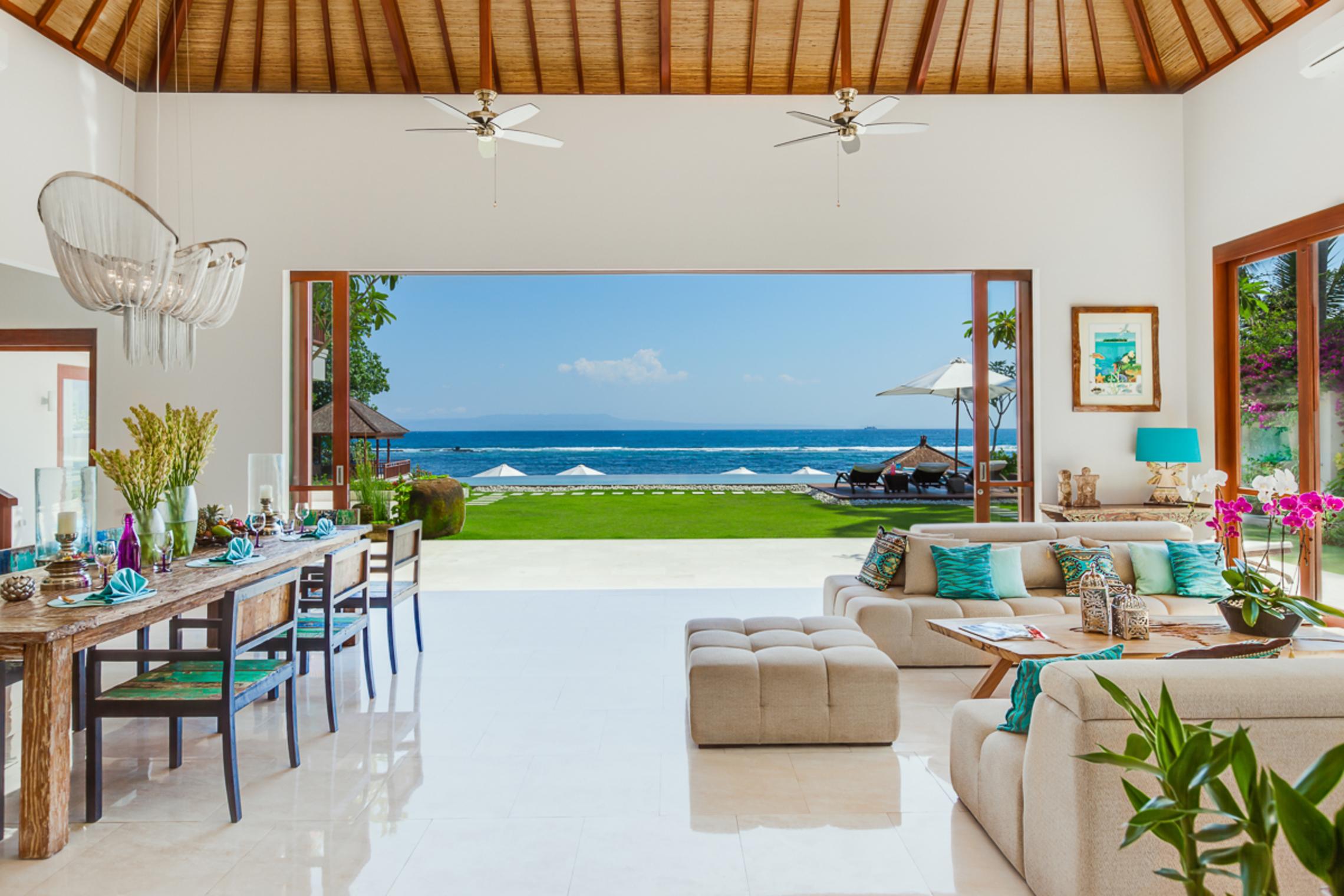 Tirta Nila. Bali's best luxury beach house