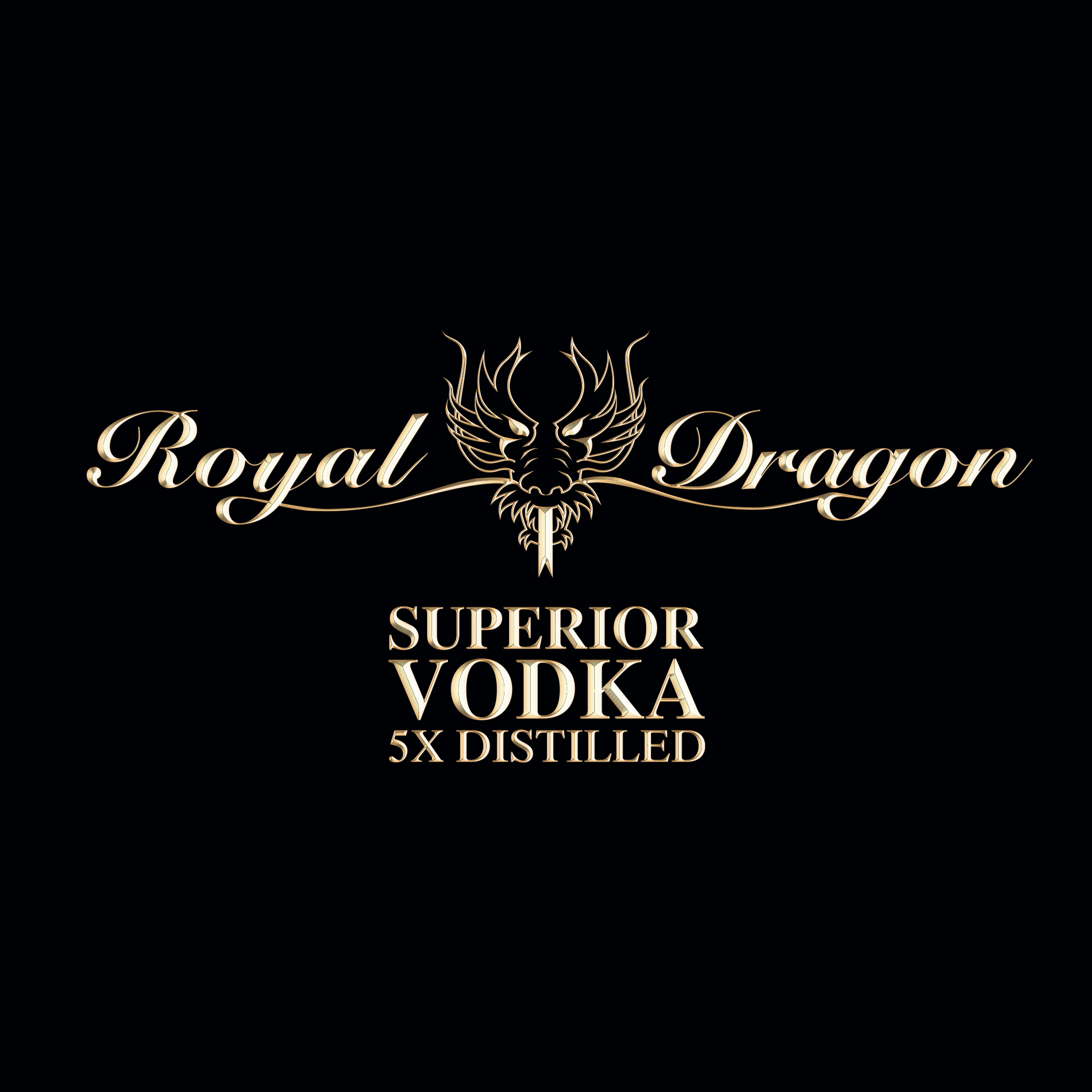 royal dragon vodka- company logo