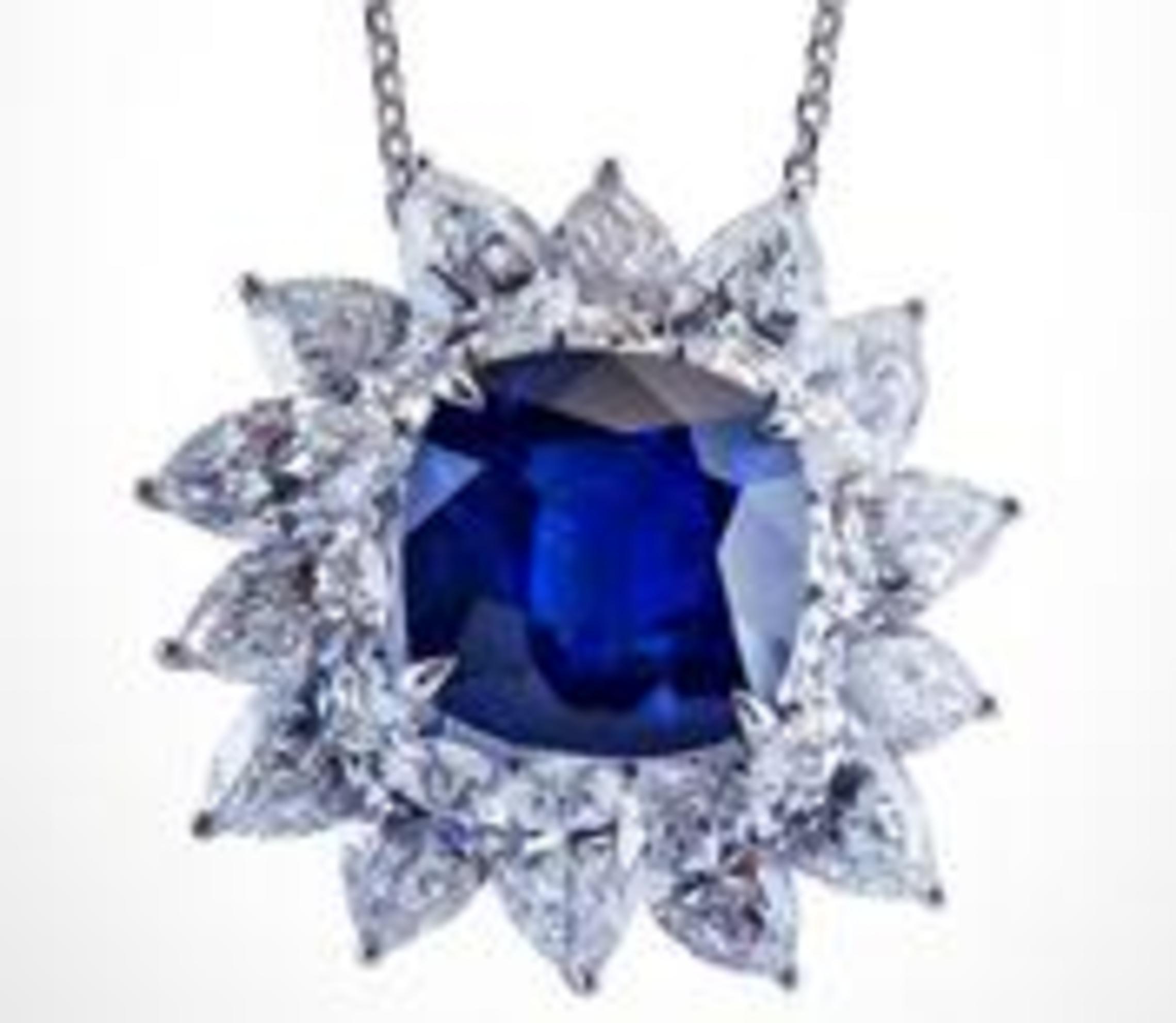 Sapphire Royal Blue 18.78 carats
