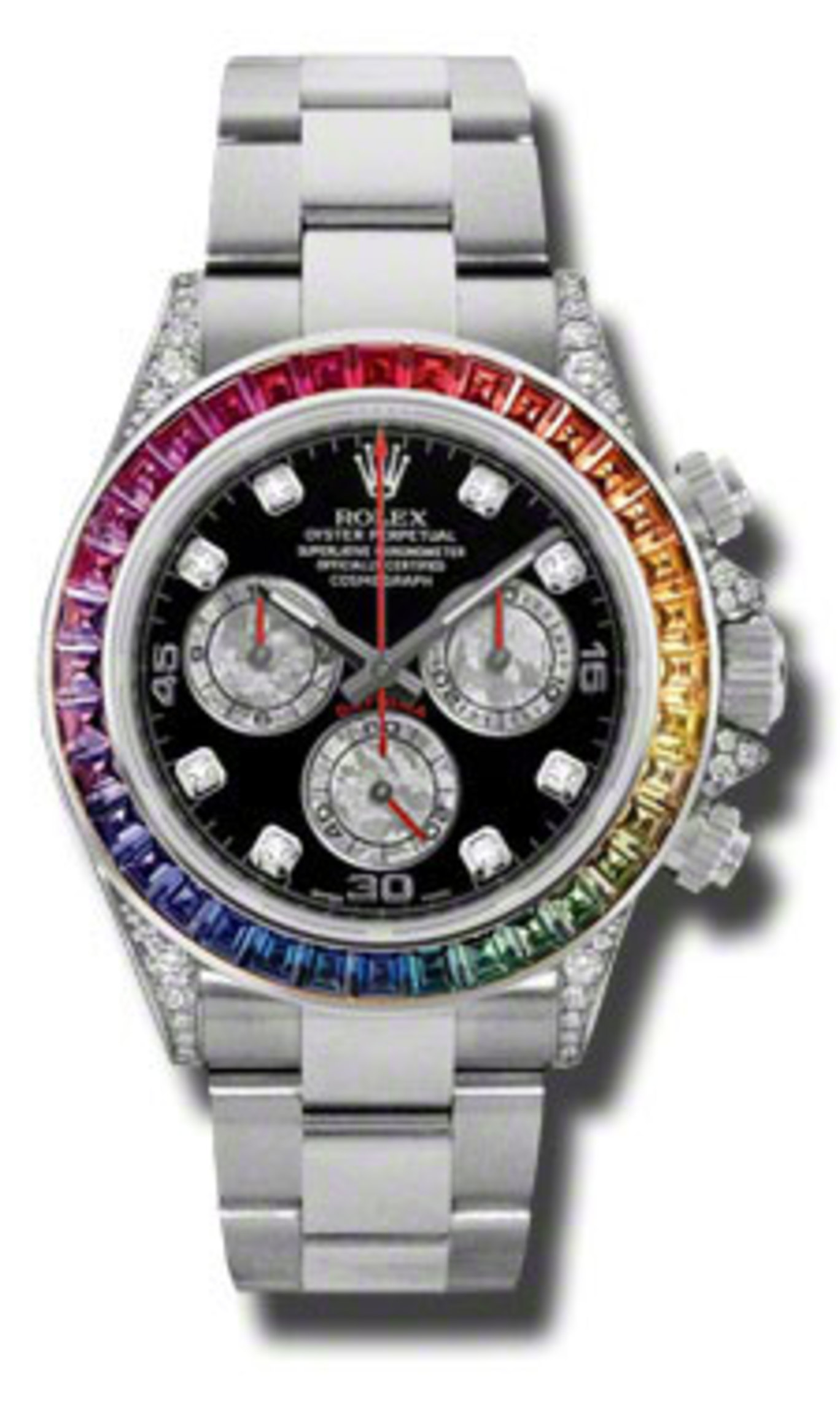 Rolex Oyster Perpetual Cosmograph White Gold Daytona Rainbow (New unworn)