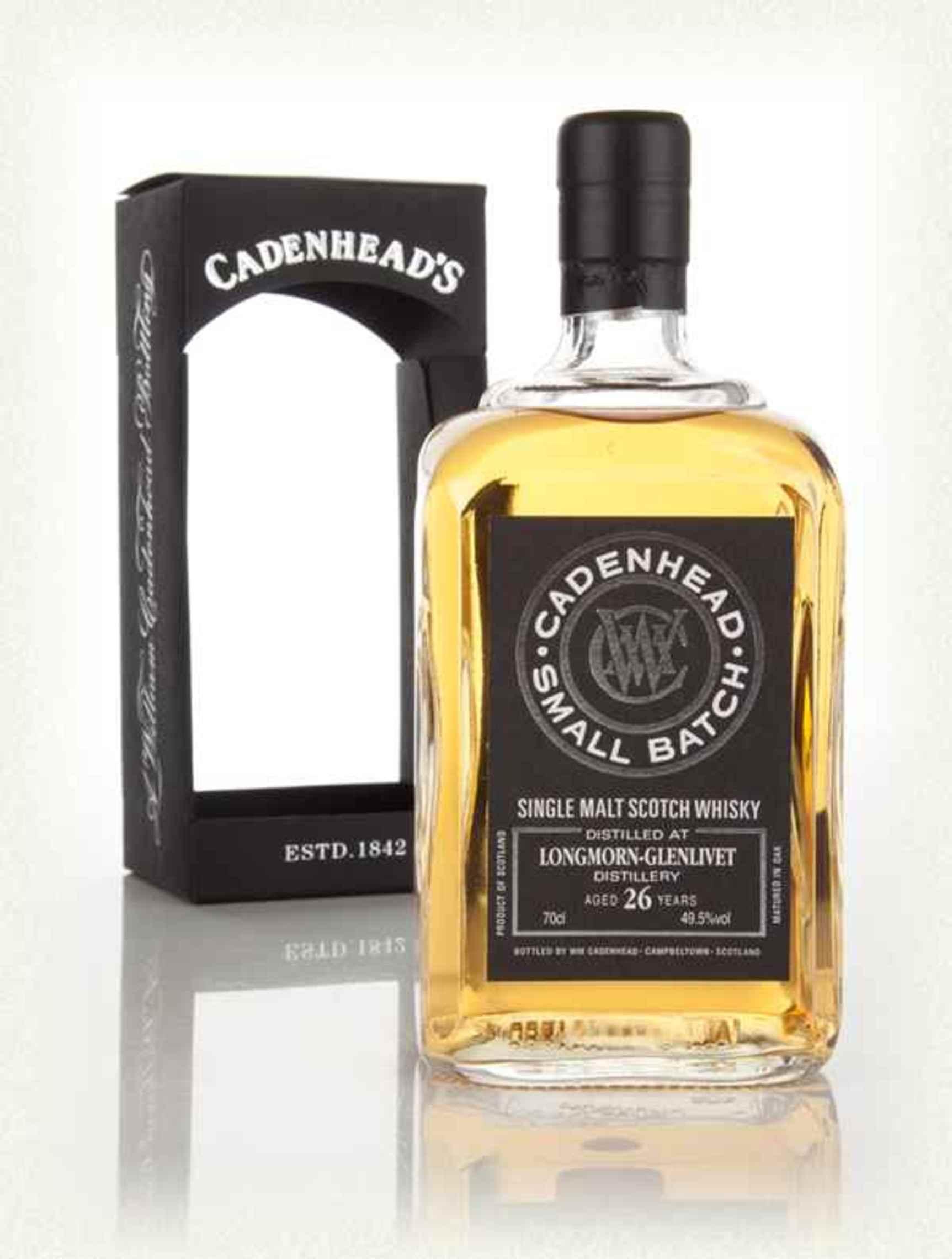 Longmorn 26yo, 49.5% by Cadenheads
