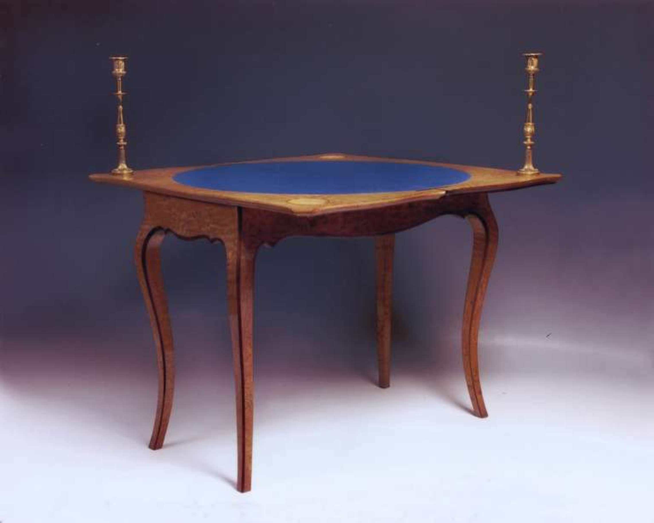 A Fine Card Table Stamped By The London Makers Holland & Sons