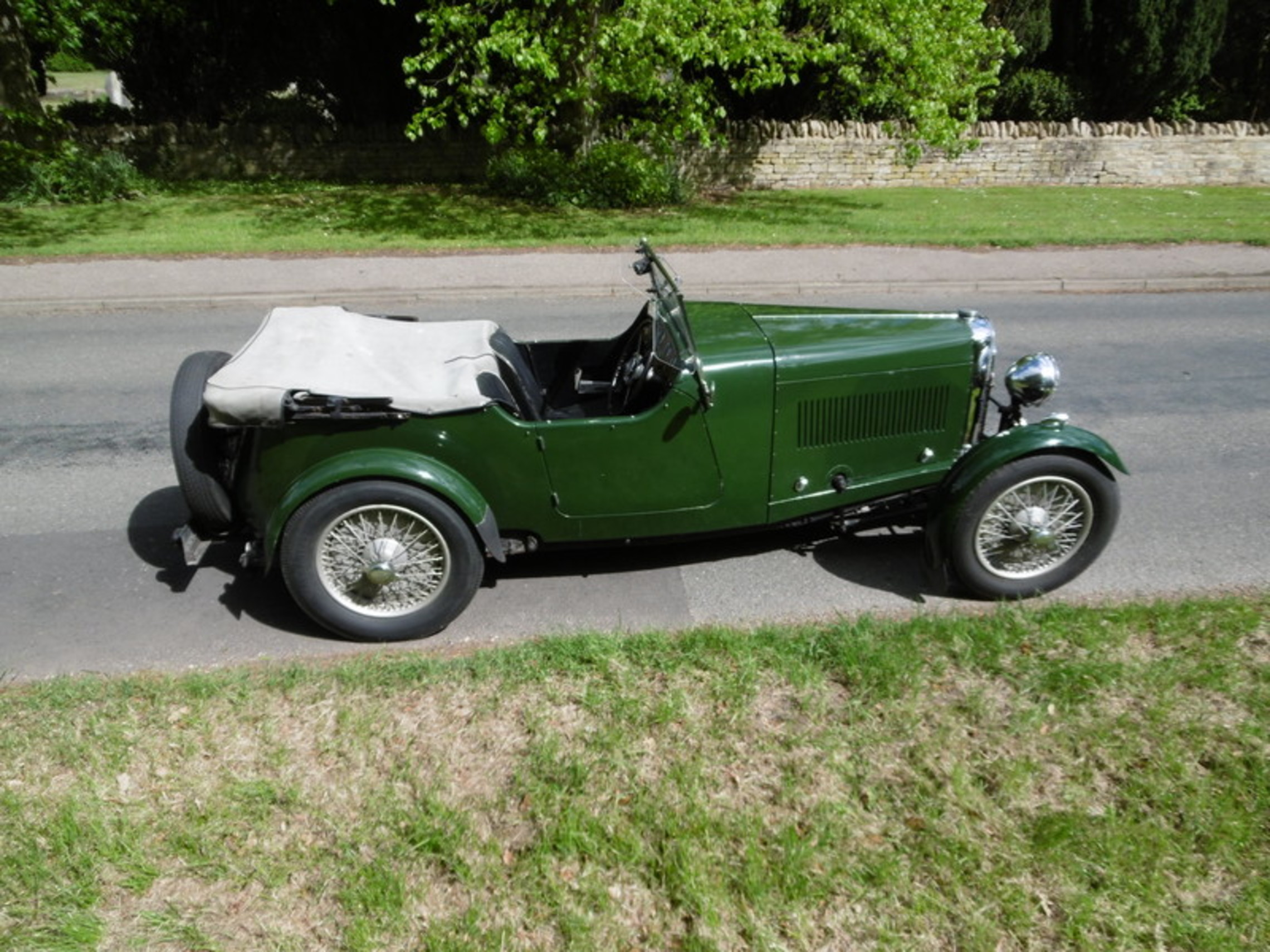 1933 1 ½ litre 12/50 short chassis