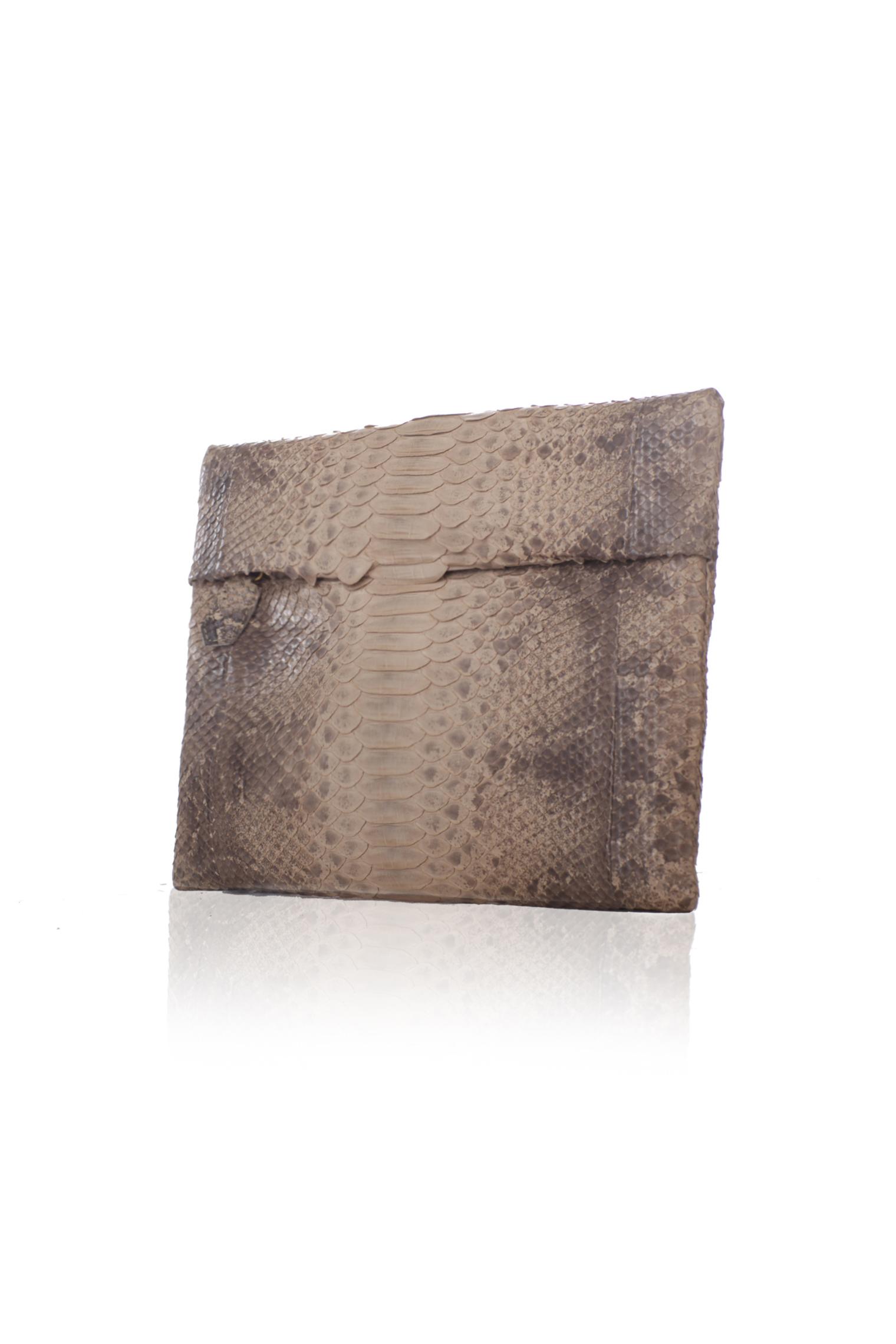 Folder Clutch PM - Nude Ombre