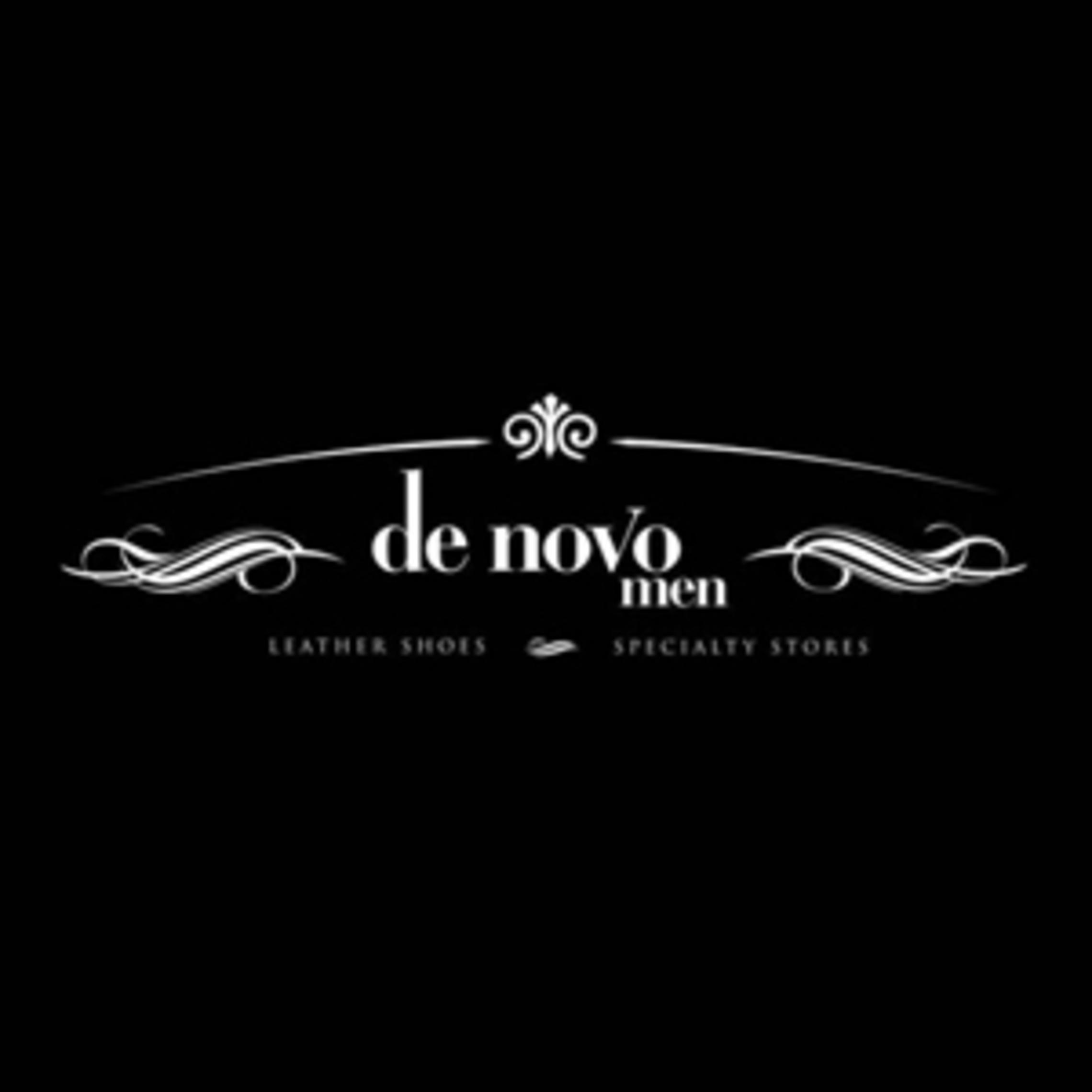 denovo men- company logo