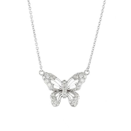 Butterfly Tale Diamond Necklace