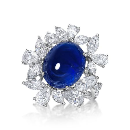 10.17ct Blue Sapphire Ring