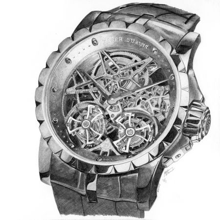Roger Dubuis Excalibur (Artwork)
