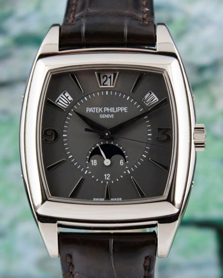 PATEK PHILIPPE ANNUAL CALENDAR MOON PHASE POWER RESERVE/ 5135G