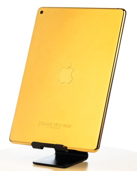 24ct Gold iPad Mini 4 (By Julian Monroe London)