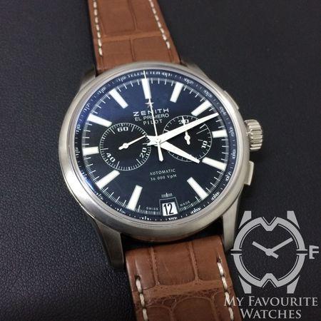 Zenith El Primero Pilot Chronograph