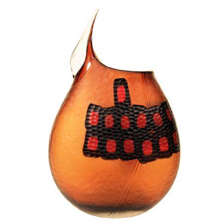Hand Blown Unique Murano Vase