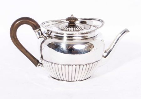 Antique Sterling Silver Teapot Paul Storr 1826