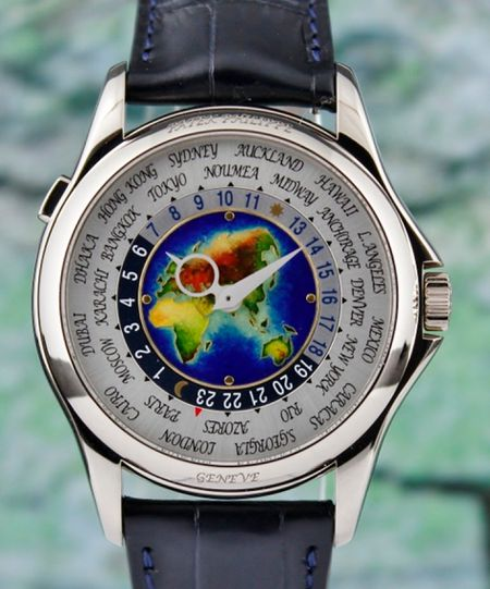 Patek Philippe 18K White Gold World Time / 5131G