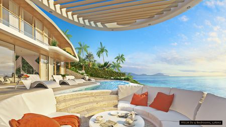 4 Bedroom dynamic Seaview Villa