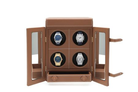 "LE TEMPS IV"" LUXURY WATCH WINDER FOR 4 WATCHES BY MALTIER LE MALLETIER"