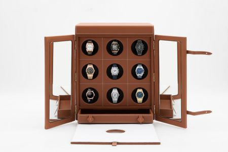 LE TEMPS IX LUXURY WATCH WINDER FOR 9 WATCHES BY MALTIER LE MALLETIER