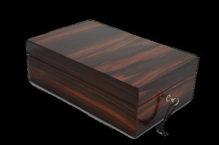 "Wooden Makassar Box 1/3 ""Al Capone"""