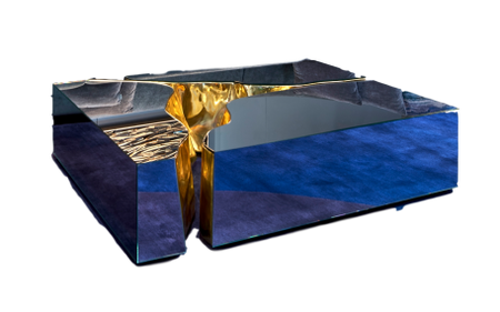 Lapiaz mirrored Coffee table
