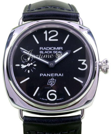 Panerai PAM 380 Radiomir Black Seal Logo Dial 45mm Stainless Steel