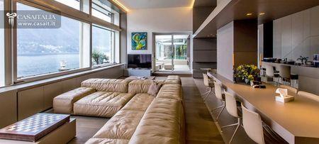 Luxury villa with indoor pool on Lake Como