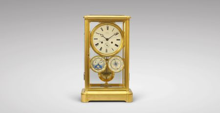 Dussault Table Regulator With Complications (circa 1860)