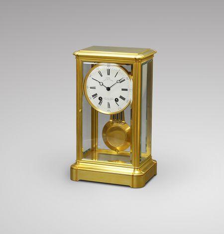 Louis-Philippe period precision table regulator clock (circa 1840)