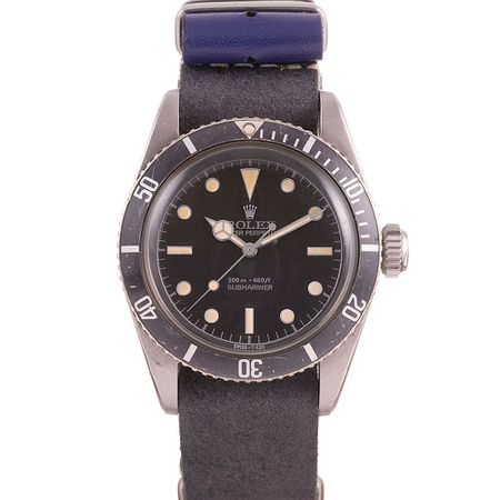 "ROLEX REF. #5510 ""BIG CROWN"" SUBMARINER CIRCA 1959"