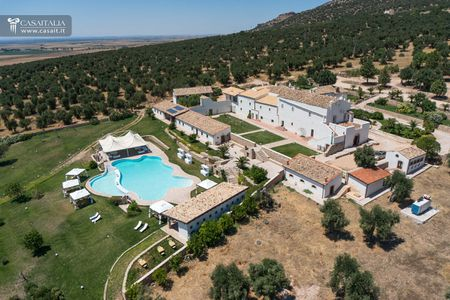 Historic farmstead with hundred-year-old olive grove for sale in Puglia
