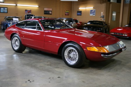 1971 FERRARI 365 GTB/4 DAYTONA COUPE