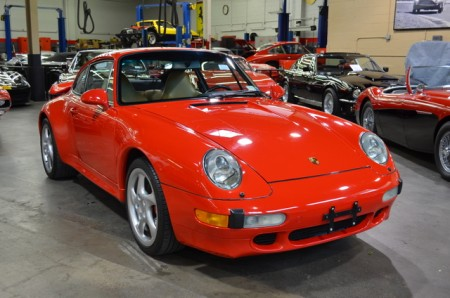 1997 PORSCHE 911/993 TWIN TURBO COUPE