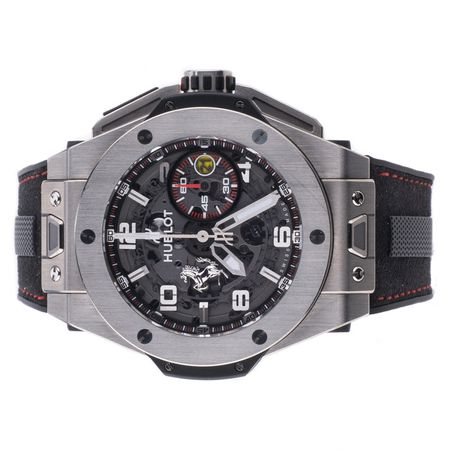 Pre-Owned Hublot Ferrari Big Bang Unico Limited Edition 401.NX.0123.VR