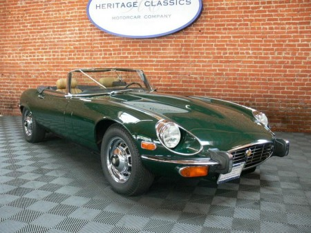 1973 Jaguar E-Type V-12 Series III Roadster