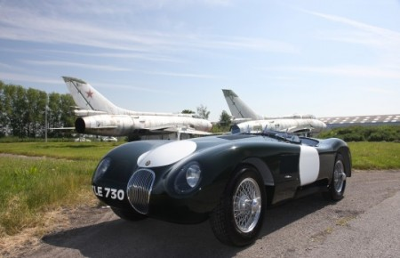 1956 Jaguar C type replica