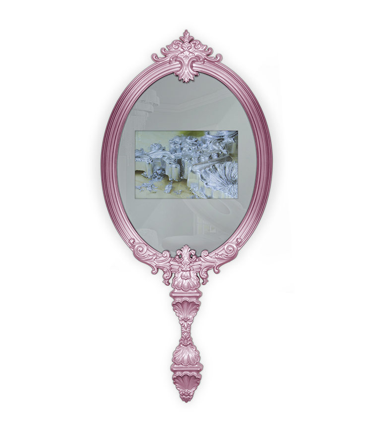 MAGICAL MIRROR MIRROR with TV 19\'\'