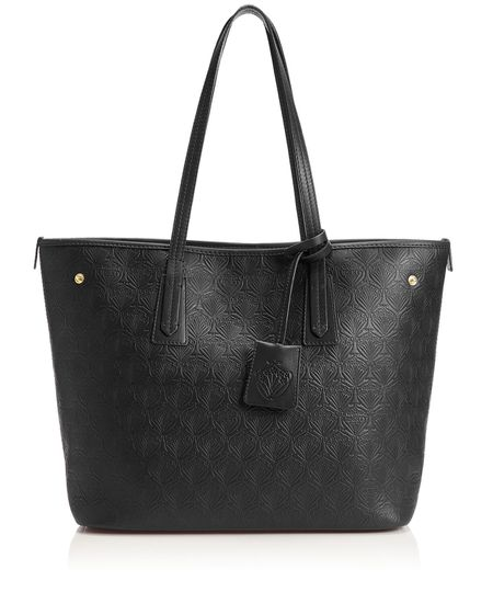 LIBERTY LONDON Iphis Leather Little Marlborough Small Tote Bag