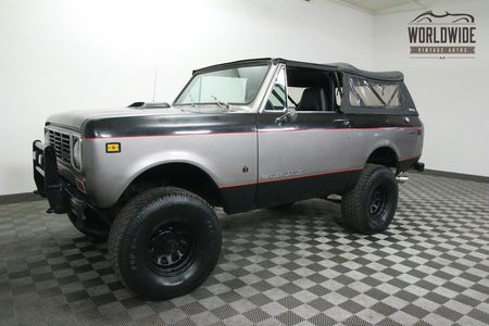 1976 INTERNATIONAL SCOUT	2 OWNER. 64K. V8. RESTORED!